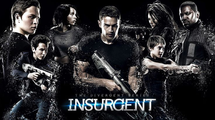 """Free teen movie """"Insurgent"""" at the Federalsburg Branch Library"""
