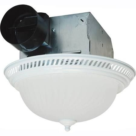 Air King DRLC70 70 CFM Round Decorative Bath Fan With Light From The  Decorative White Fans