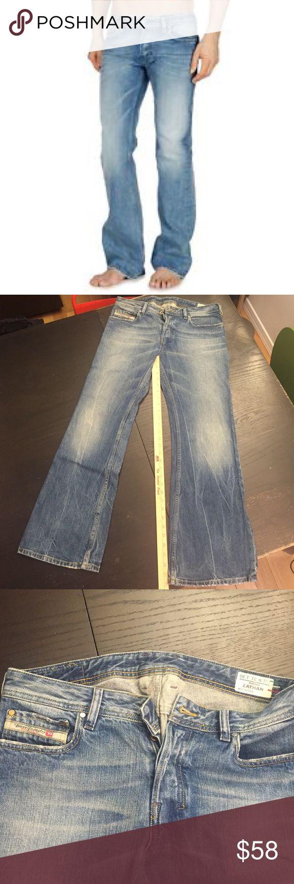 DIESEL ZATHAN JEANS Men's 31 x 30. Wash 0072H NWOT💖 Diesel Jeans Boot Cut