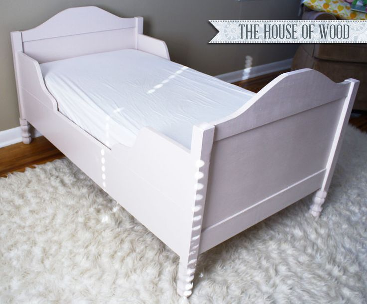build a restoration diy toddler bed with this tutorial from jen woodhouse from the house of wood and stepbystep free plans by ana white
