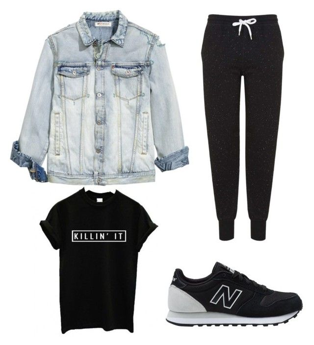 """Bank Holiday Monday Chill Wear"" by sinead-kearns on Polyvore featuring Topshop and New Balance"