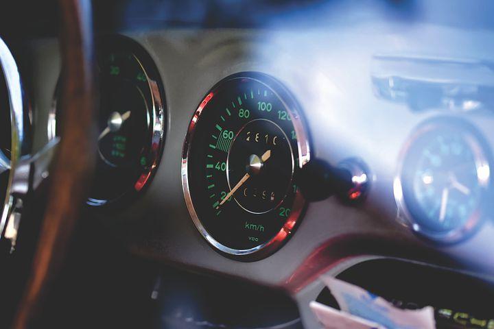 Pixabay의 무료 이미지 – 포 르 쉐, Oldtimer, 356C, 스피도, 속도 센서