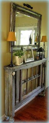 Pallet Foyer Table
