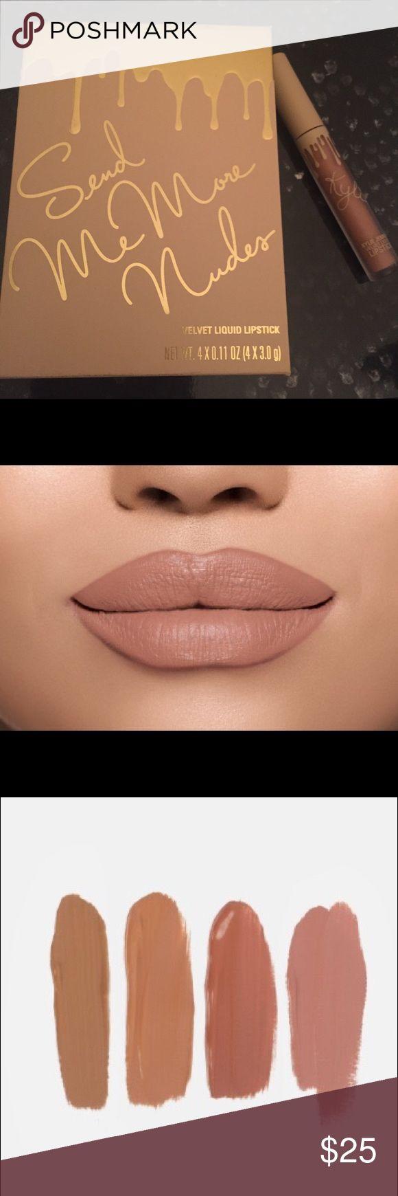 Best 25+ Kylie Matte Lipstick Swatches Ideas On Pinterest
