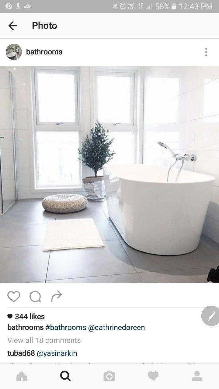Large white gloss walls