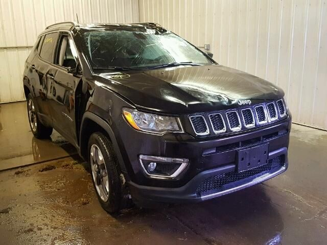 Salvage 2017 Jeep Compass Limited
