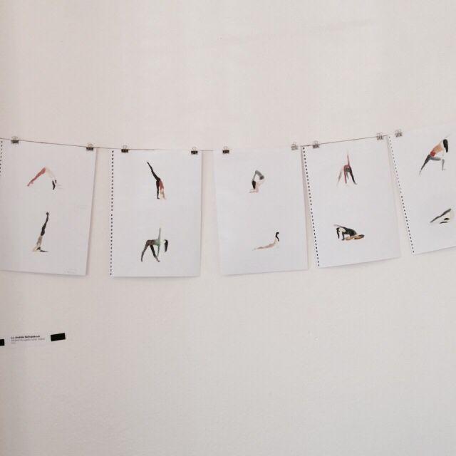Asana drawings