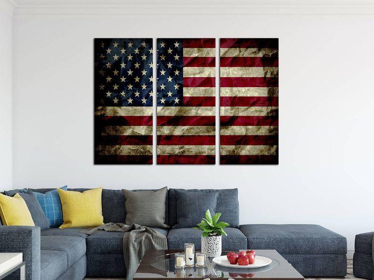 Take a peek into my shop here 👀 American flag wall art, american flag print, Vintage american flag canvas, USA flag canvas, large wall art, 3 panel canvas, US Constitution https://www.etsy.com/listing/497760676/american-flag-wall-art-american-flag?utm_source=crowdfire&utm_medium=api&utm_campaign=api