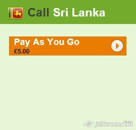 Mbuzzz is offering an amazing Pay As You Go   plan for calling in Sri Lanka!