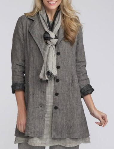 Watersister Flax Linen, for which I just fell HEAD-OVER-HEELS. Must have this ensemble