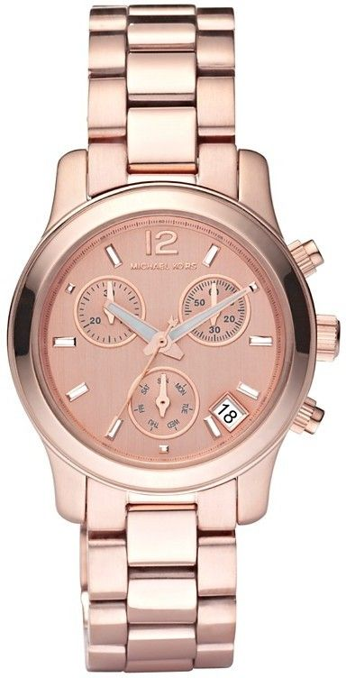 Michael Kors Watch Women's Blair Rose Gold Stainless Steel!