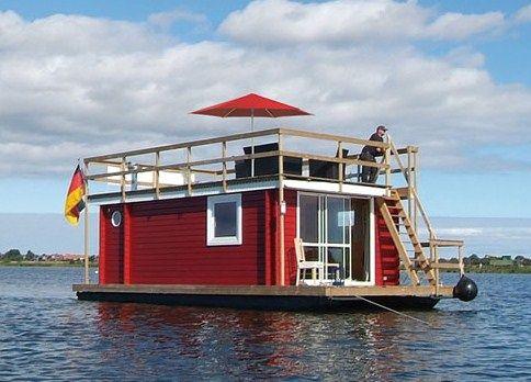 Skandinavisches Hausboot mit Kamin und allem Komfort Lottas meerZeit in Neustadt in Holstein t