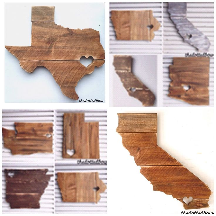 A personal favorite from my Etsy shop https://www.etsy.com/listing/243249561/state-pallet-sign-wood-sign-with-heart