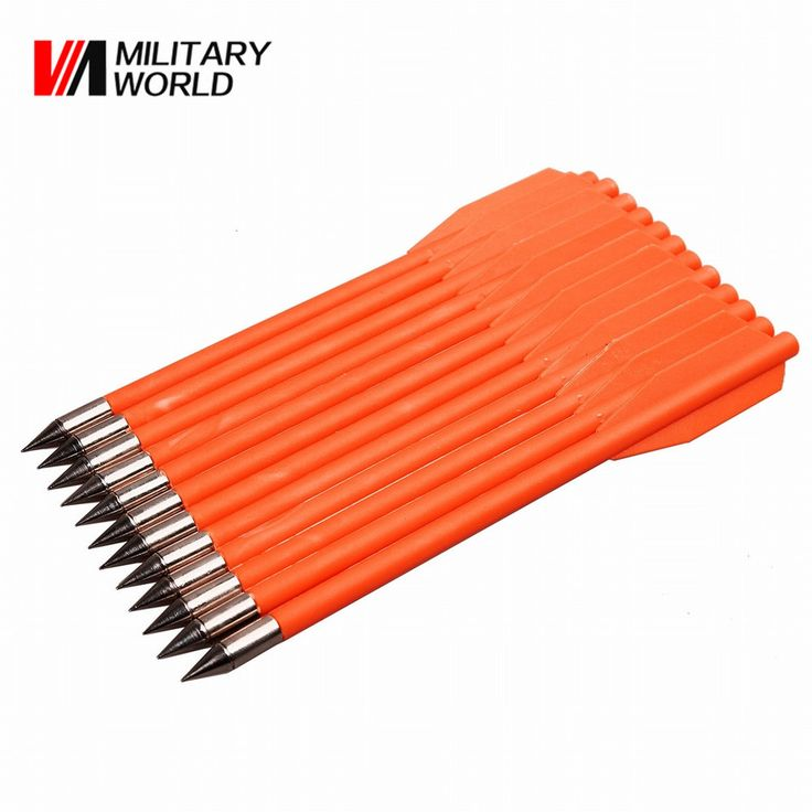 Find More Bow & Arrow Information about 12pcs/pack Hunting Shooting Arrow Plastic Feather + Aluminum Arrow Point Sport Arrows for Compound Archery Bow Free Shiping,High Quality feather diy,China feather print Suppliers, Cheap arrow rest from Mlitary World Store on Aliexpress.com