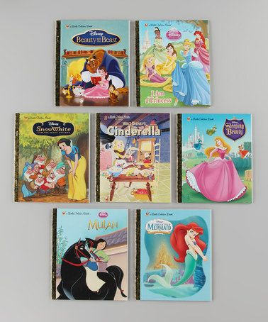 Take a look at this Flash Princess Little Golden Book Set by Disney on #zulily today!