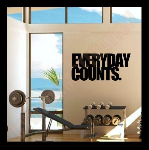 Images about workout room wall decals on pinterest