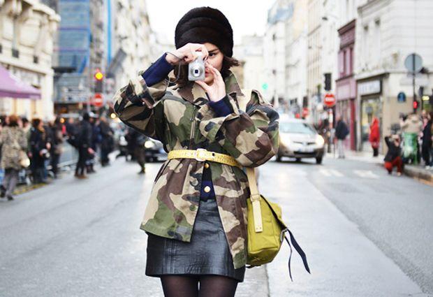 Toda Charmosa: Inspiração Fashion : Militarismo Fashion
