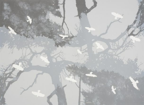Taidelainaamo - Pekka Parviainen: Kaiku, vedos