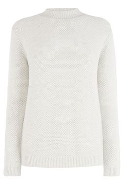 This heavy weight knitted jumper features a turtle neck, long sleeves, regular fit and basket weave knit. Length of jumper, from shoulder seam to hem, 62cm approx. Height of model shown: 5ft 10 inches/178cm. Model wears: UK size 10.Fabric:Main: 100.0% Cotton.Wash care:Machine WashProduct code: 02294170 £40.00  #WAREHOUSEWISHLIST