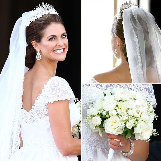 Pics: Princess Madeleine of Sweden's Valentino Wedding Dress ...