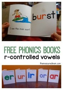 r-controlled vowels phonics readers