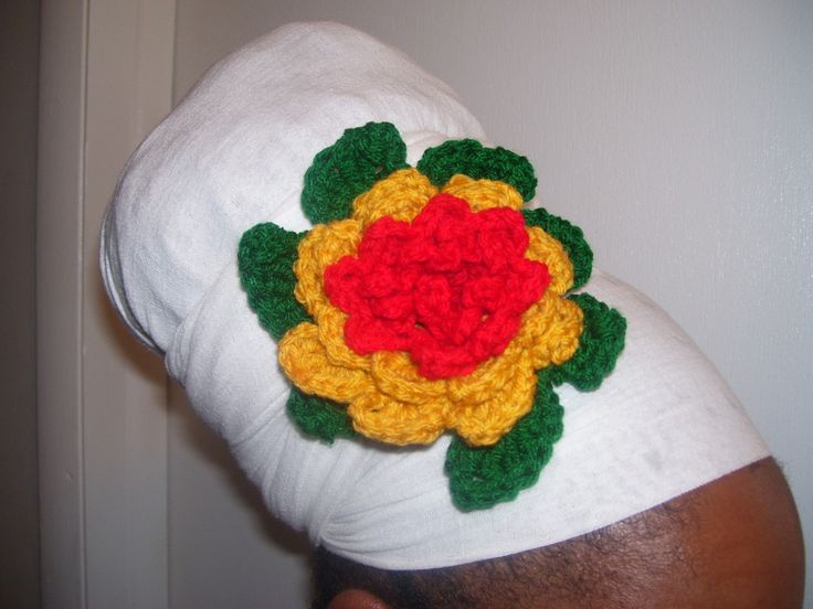 Crochet Hair Materials : Full Bloom Headband/ Hair Tie Products, Crochet flowers and Hair