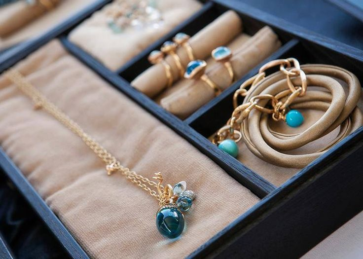 So many looks for Summer - golden blues Ole Lynggaard Copenhagen summer silks and lotus collection available from www.masterjewellers.com.au/ #masterjewellers