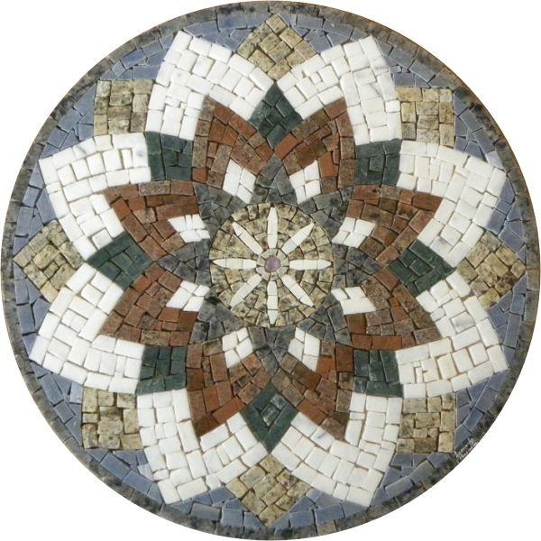 Mandala em Mosaico                                                                                                                                                                                 Mais                                                                                                                                                                                 Mais