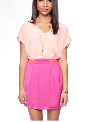.Fashion, Style, Clothing, Closets, Cute Dresses, Pink Outfit, Obsession, Colors Block Dresses, Pink Block