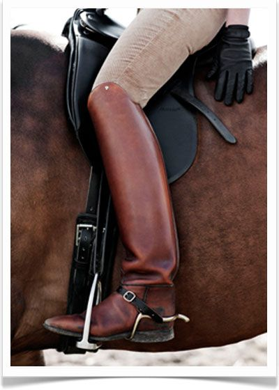 riding boots...most money I ever spent on shoes....custom made from Germany.  800.00 waay back in 1990!