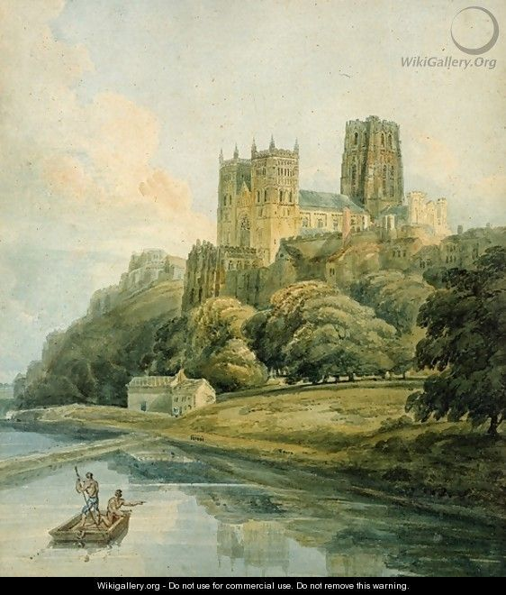 Durham Cathedral by Thomas Girtin   Watercolors in 2019 ...