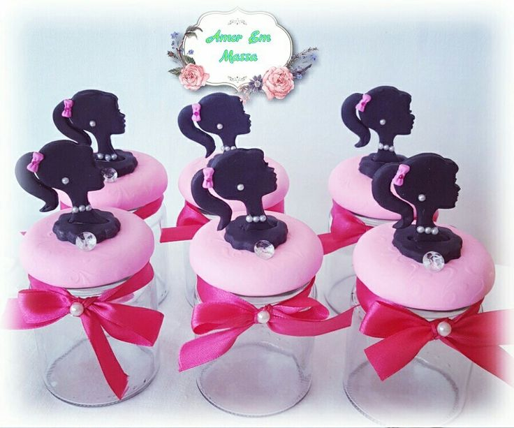 Cold porcelain jars handmade #barbiefashion#