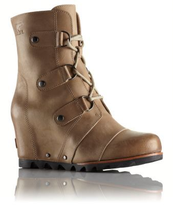 Brave the elements in style like a true warrior princess in this chic @Sorel Joan of Arctic™ Wedge Mid Boot