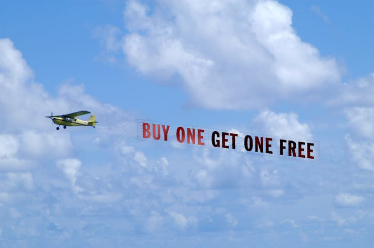 """""""Buy One, Get One Free?"""" There is No Such Thing!"""