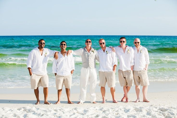 Beach wedding attire for the groom and groomsmen Island Importer features a range of beach wedding dresses for brides, bridesmaids and grooms. Description from grooms-wear-for-beach-wedding-1844.jeepexpeditions.biz. I searched for this on bing.com/images