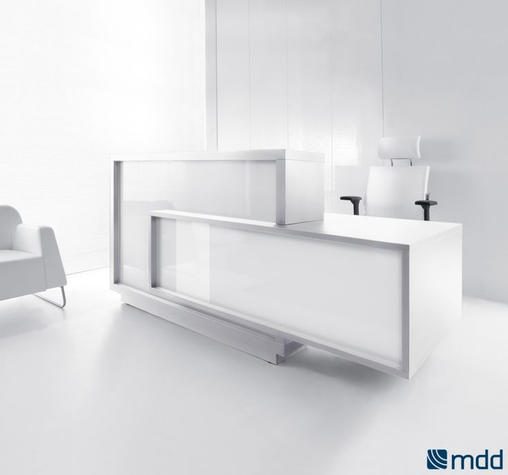 Unique, cubist shape of the FORO reception desk makes the character of the room very expressive #sohomod