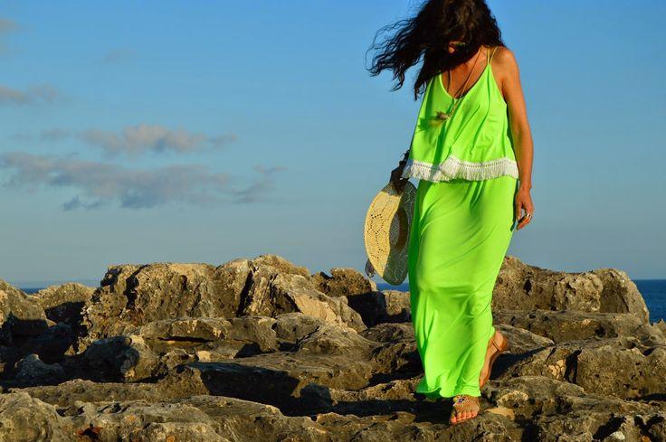 cheia de graça: #maxidress #moda #verão #querojá  Maxi Dress leve ...