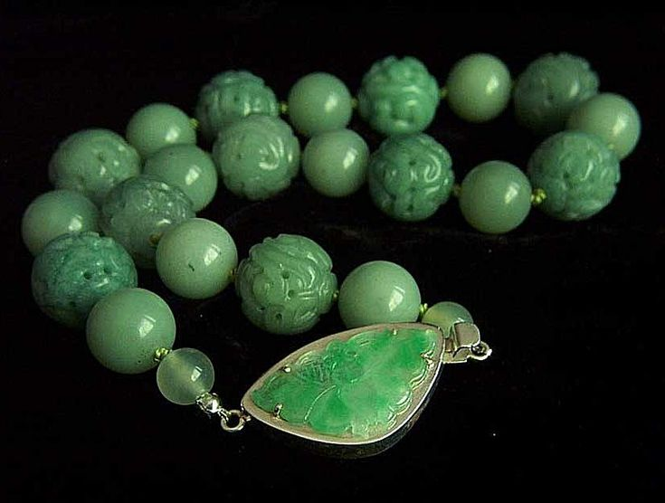 17 best images about beaded jewelry chris carlson on for Pictures of jade jewelry