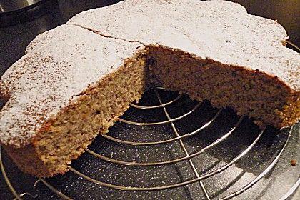 Norwegischer Mandelkuchen laktosefrei, glutenfrei, ohne Backpulver