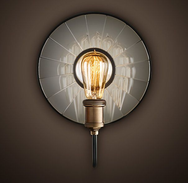 Wall Sconce Lighting Images : 72 best images about HOME FURNITURE & APPLICATIONS on Pinterest Plaice, 1920s and Weights