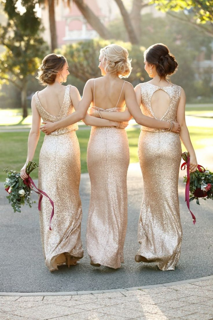 Trends We Love: Relaxed Glam Bridesmaid Dresses - Pretty Happy Love - Wedding Blog | Essense Designs Wedding Dresses