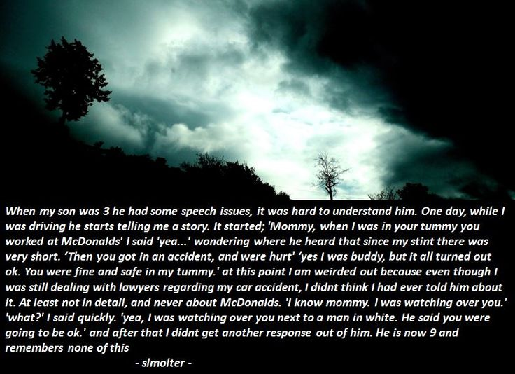 19 Kids Tell Terrifying Stories To Their Parents
