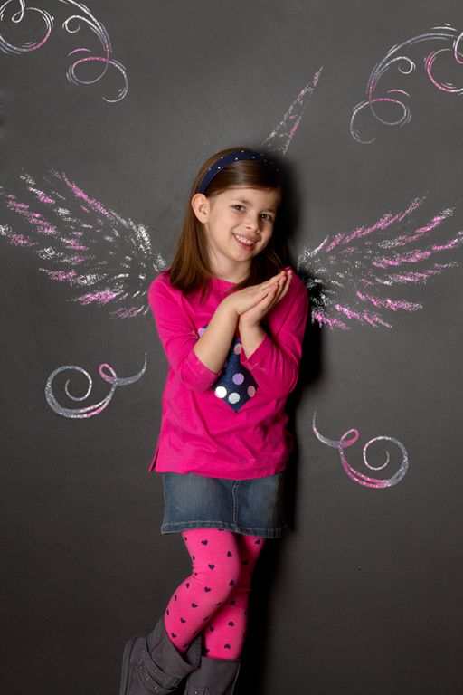 """""""Chalkboard Unicorn Princess"""" by Portrait Creations photography studio located in Charlotte, NC."""