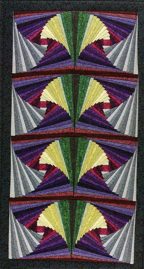 41 Best Twisted Log Cabin Quilts Images On Pinterest Log