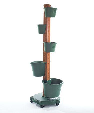 This Green Vertical Garden System by My Garden Post is perfect! #zulilyfinds