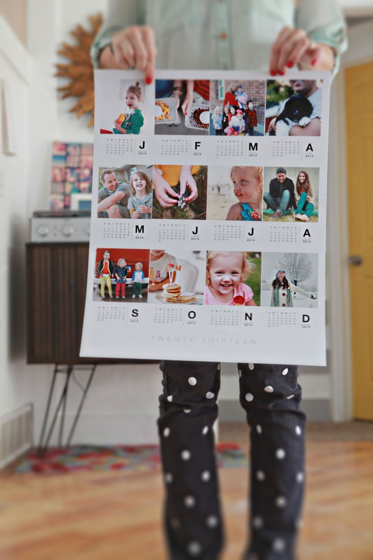 printable calendar (she had printed at Costco) . Template available through Paislee Press here: http://www.the-lilypad.com/store/product.php?productid=31031=0=1 (http://elizabethkartchner.com/2012/10/22/poster-calendar/)