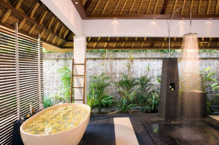 Balinese bathroom balinese bathroom ideas pinterest for Balinese bathroom design