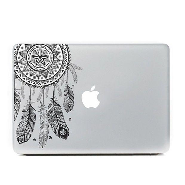 "Black Dreamcatcher MacBook Skin Decal Sticker for Apple Macbook Pro Air Mac 13"" inch Laptop 13 Inch"