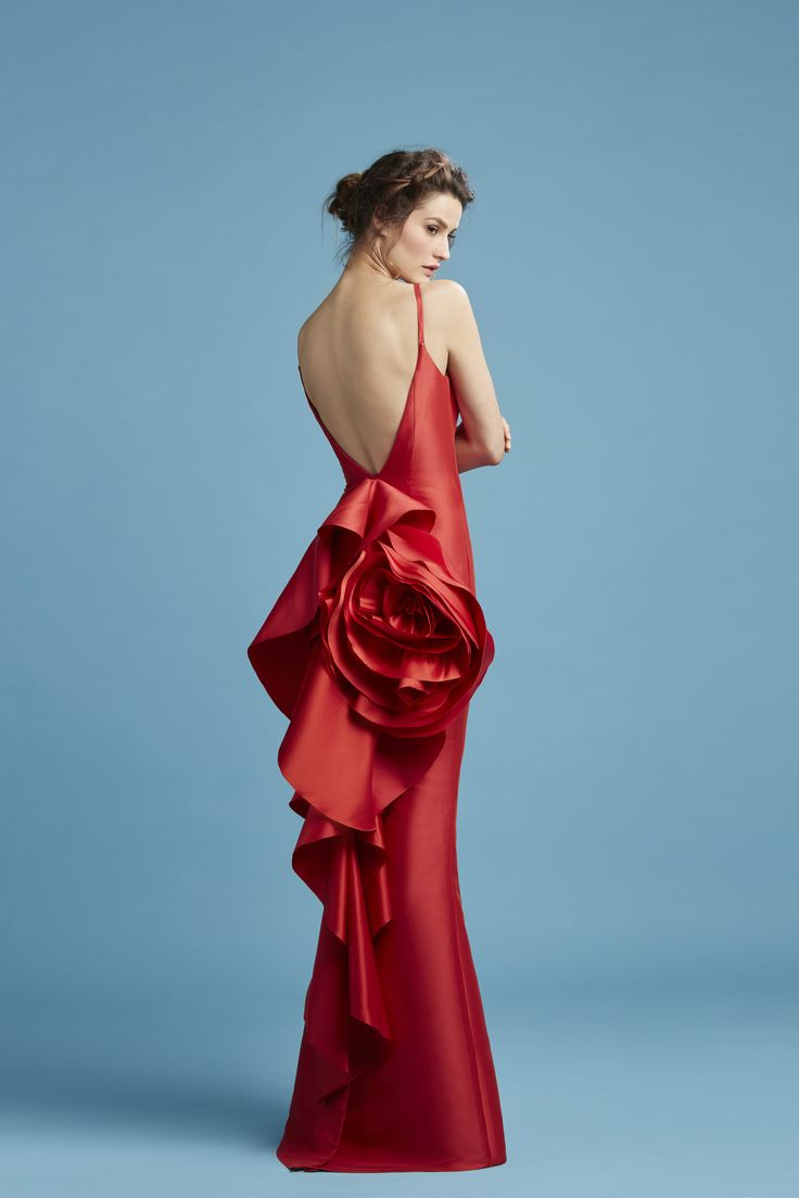 Perfect Red Dresses For Christmas Party Sketch - All Wedding Dresses ...