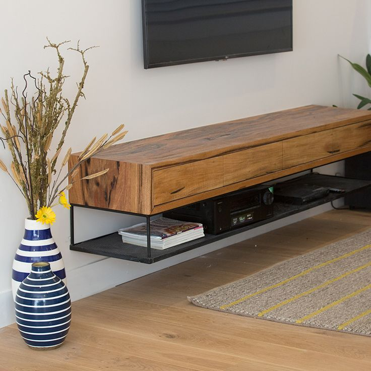 Best 25 floating entertainment center ideas on pinterest for Block tv stand
